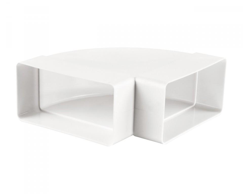 PVC square horizontal bend