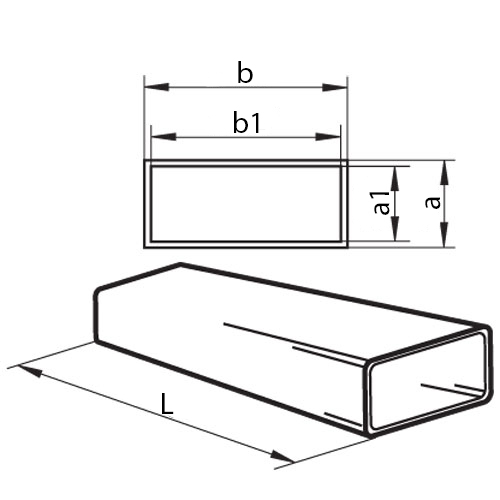 square air duct dimensions